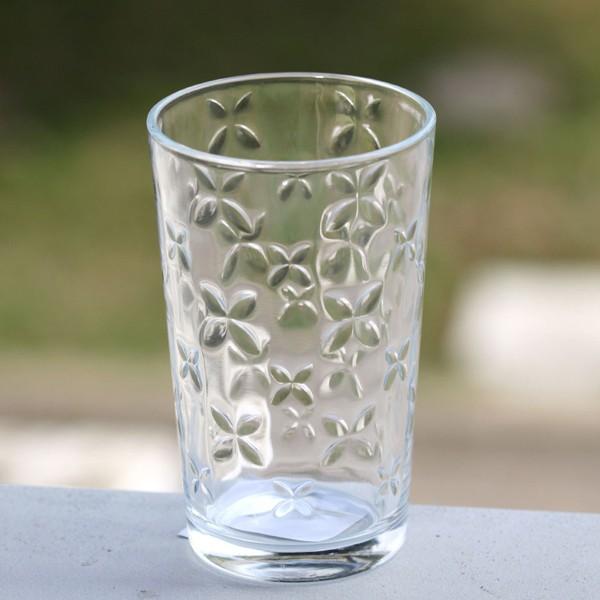 Vaso cristal con relieve flores 230ml menaje cristaler a - Vasos grandes cristal ...