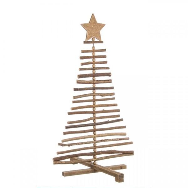 Rbol navidad madera 70 cm momentos navidad - Arboles de navidad de madera ...