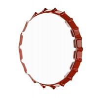 Espejo redondo marco metálico Chapa refresco Danny 3 colores 30cm
