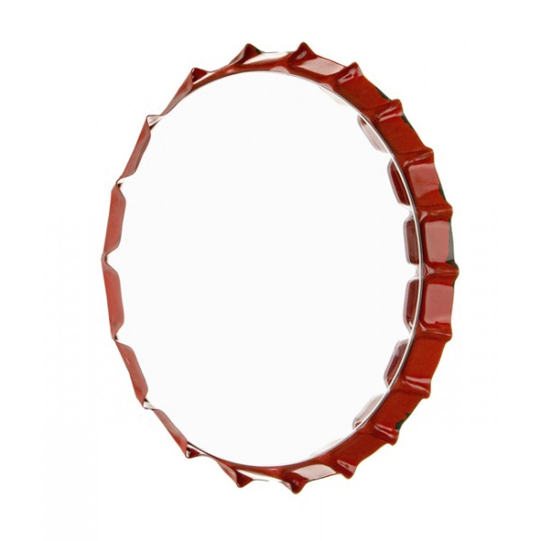 Espejo redondo marco met lico chapa refresco danny 3 for Espejo redondo grande