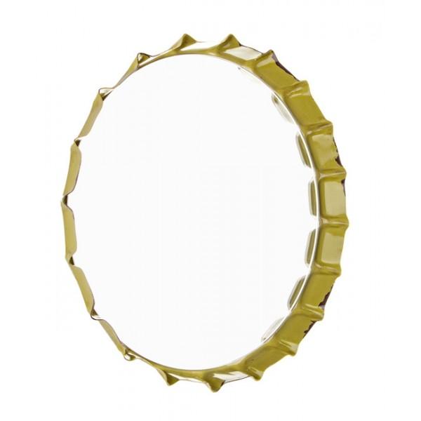 Espejo redondo marco met lico chapa refresco danny 3 for Espejos con marco metalico