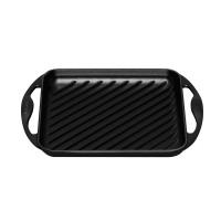 Parrilla grill hierro colado cuadrada Le Creuset Negra 24x24cm