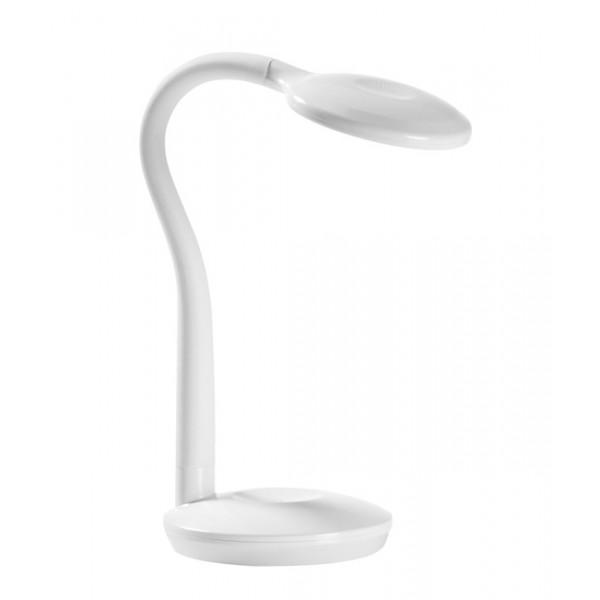 L mpara de mesa flexo cosmo blanca led 3 2w decoraci n - Lamparas flexo led ...