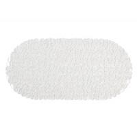 Alfombra de ducha bañera transparente piedras río 35x70cm