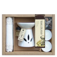 Set regalo aromático quemador aceite Neroil + tapete