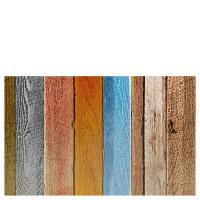 Alfombra cocina vinílica estampado suelo madera colores 50x80 cm