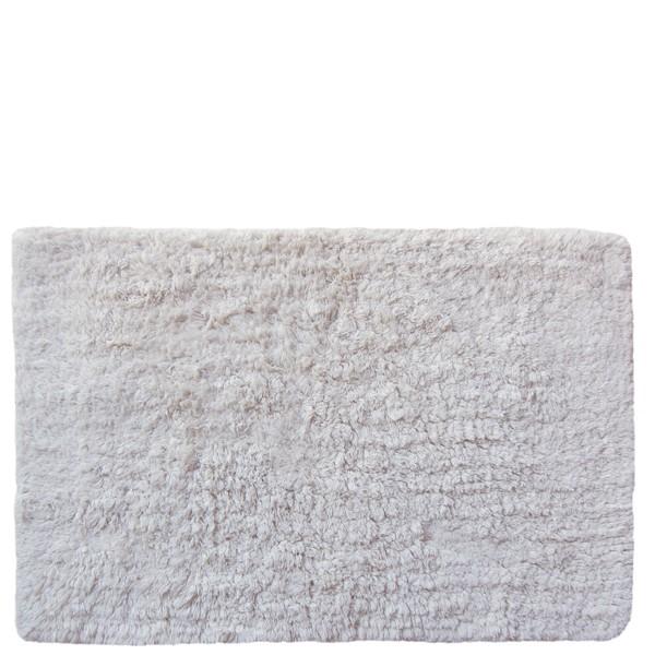 Alfombra de ba o lisa blanca 40x60cm textil ba o - Alfombras de bano originales ...