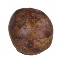 Sujeta puertas redondo balón futbol marrón 20cm