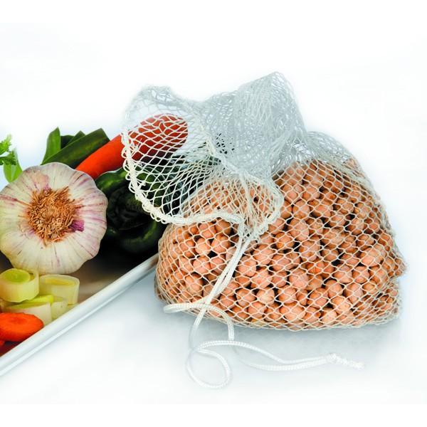 Malla saco para legumbres nylon