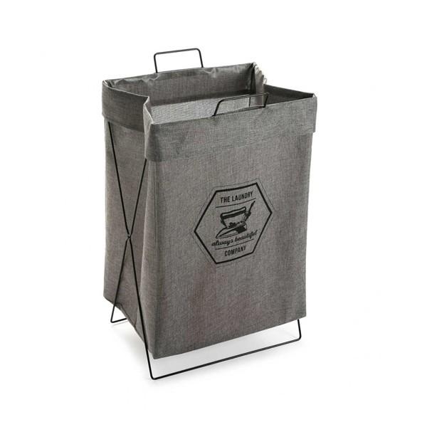 Cesto cubo para ropa gris the laundry company 36x28xh58cm - Cesto para mantas ...
