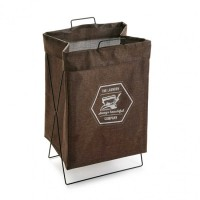 Cesto cubo para ropa marrón The Laundry Company 36x28xh58cm