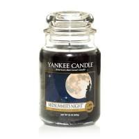 Vela perfumada en frasco cristal grande Midsummers Night Yankee Candle