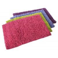 Alfombra baño pelo varios colores Shaggy 50x70 cm