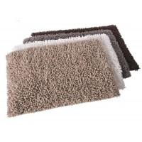 Alfombra baño pelo varios colores tonos claros Shaggy 50x70 cm