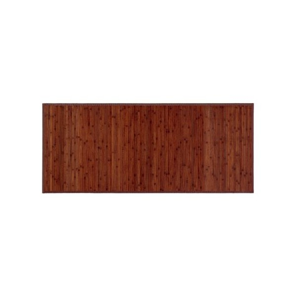 Alfombra tablillas bamb color nogal 75x175cm textil hogar - Alfombras bambu colores ...
