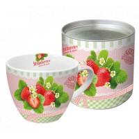 Mug decorado Delicious Strawberries PPD 20cl