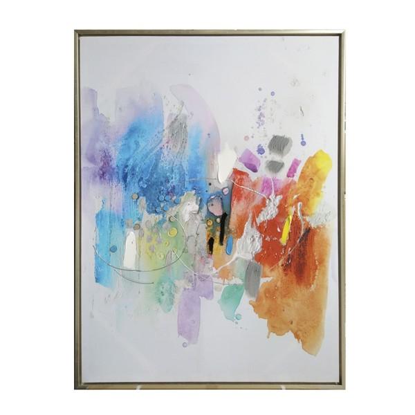 Cuadros colores vivos cheap cuadro abstracto colores - Cuadros colores vivos ...