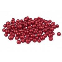Esferas bolas foam rojas 3 tamaños diámetros 1,3 1,5 y 1,8cm 20gr