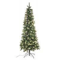 Arbol Navidad Slim Averan con luces led 430 ramas con luces led altura 150cm