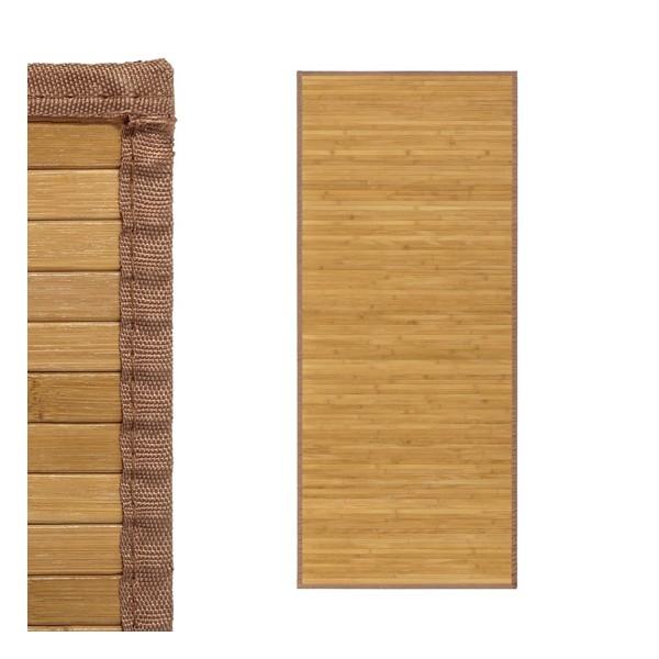 Alfombra tablillas bamb color natural 75x175cm - Alfombras bambu colores ...