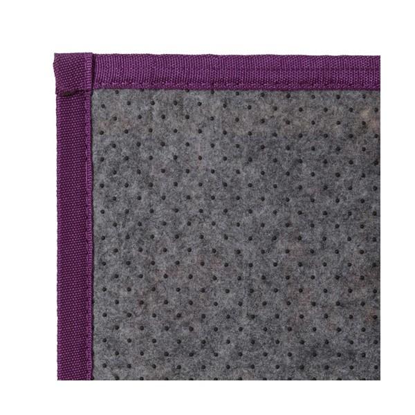 Alfombra tablillas bamb color violeta 75x175cm - Alfombras bambu colores ...