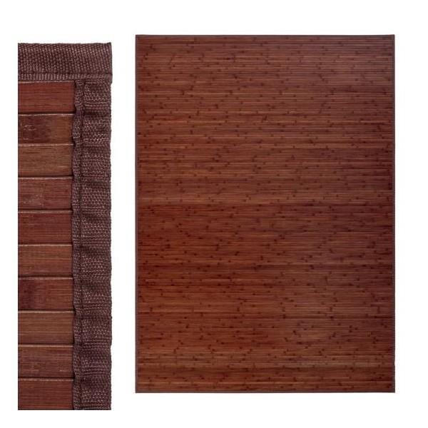 Alfombra tablillas bamb color nogal 180x250cm - Alfombras bambu colores ...