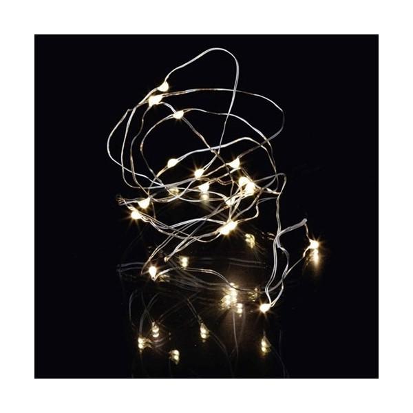 Guirnalda 20 luces leds knirke 1 9m 30cm - Guirnalda luces led ...