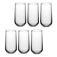 Pack 6 vasos cristal Allegra 470cc