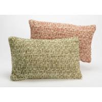 Cojín algodón con relleno mezclilla 2 colores 30x50 cm