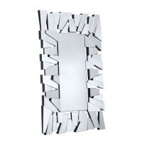 Espejo de pared veneciano moderno rectangular Retales 76x100cm