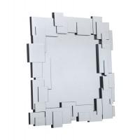 Espejo de pared veneciano moderno cuadrado Retales 100x100cm