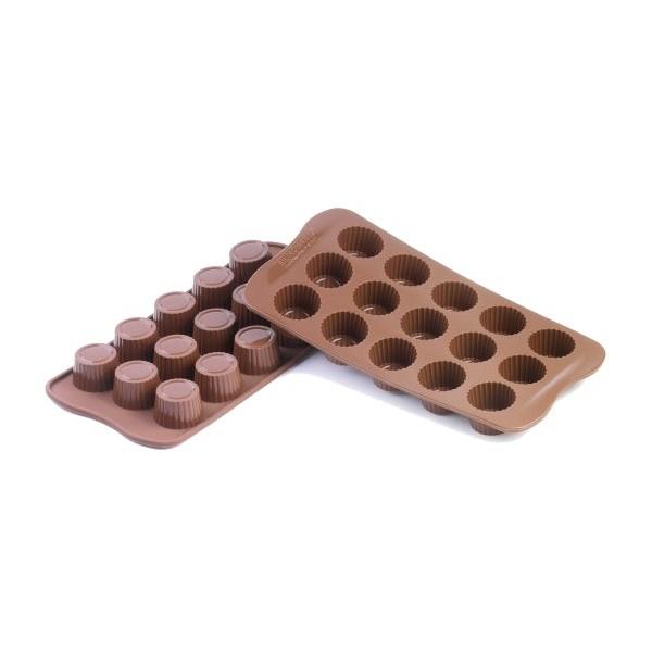 Chocolates silicone molds Choc Praliné Silikomart
