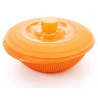 Cocotte silicona con tapa Silikomart 23,5 cm naranja
