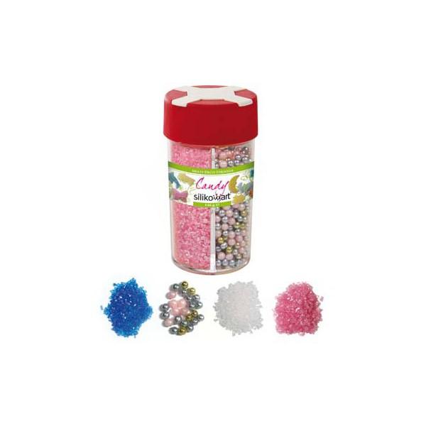 Sprinkles sugar decoration