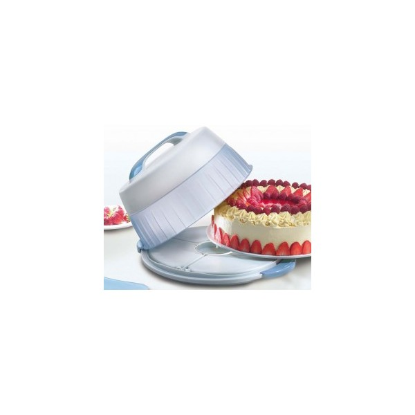 Thermal cake holder