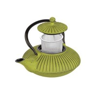 Teapot cast iron green 0,78l