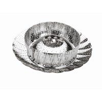 Bollitore estensibile in acciaio inox (18-28 cm)