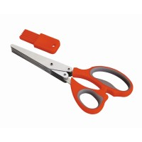 Vegetable scissor 5 cuts + cleaning comb