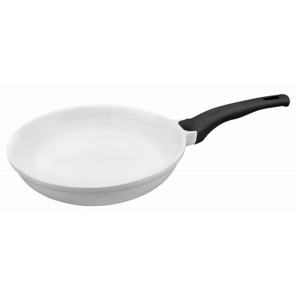Poêle ceramique blanche (28 cm)
