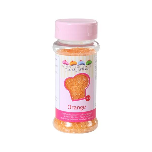Sprinkles sucre orange 80gr
