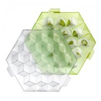Ice cube vert lekue