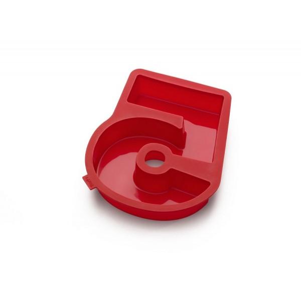 Stampo silicone per dolci a forma di numero 5 Lékué