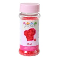 Sprinkles mini red balls 80gr