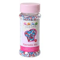 Sprinkles mini-boules mélange patriotique 80gr