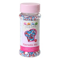 Sprinkles mini patriotic mix balls 80gr