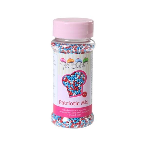 Sprinkles mini palline patriotic mix 80gr