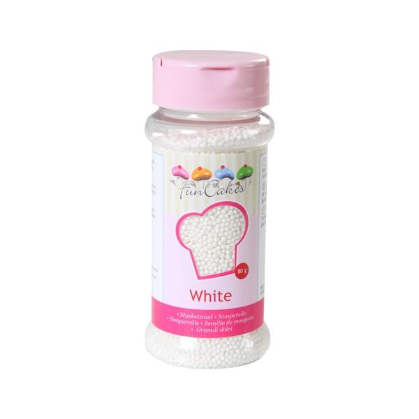 Sprinkles mini bolitas blancas 80gr
