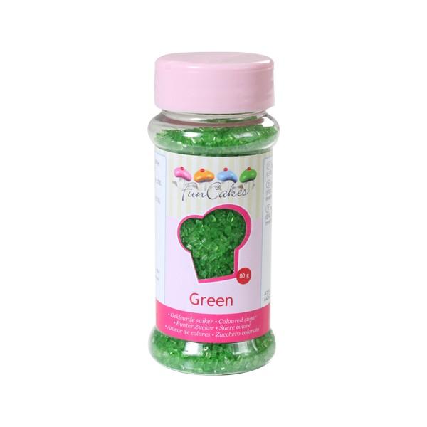 Sprinkles azúcar verde 80gr