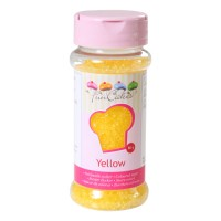 Sprinkles sucre jaune 80gr