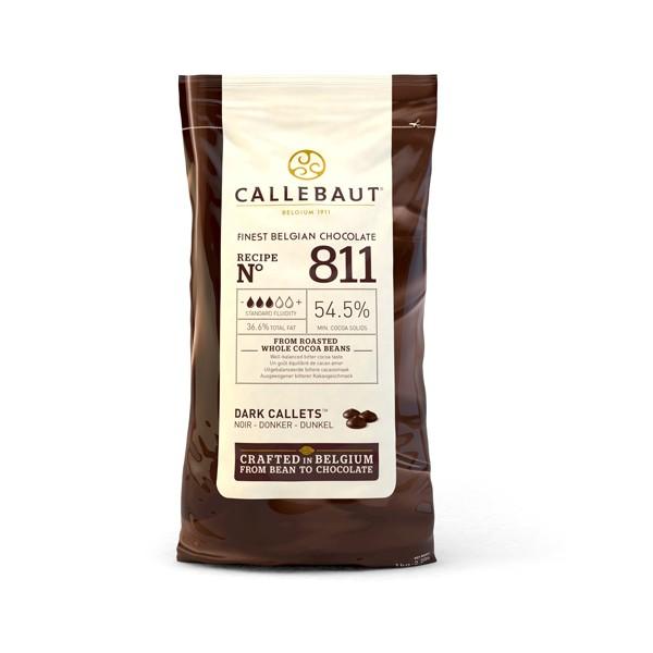 Chocolate belga negro nº 811 Callebaut 1 Kg